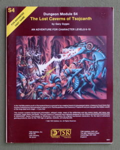 Looking At Lost Caverns Of Tsojcanth, Part One
